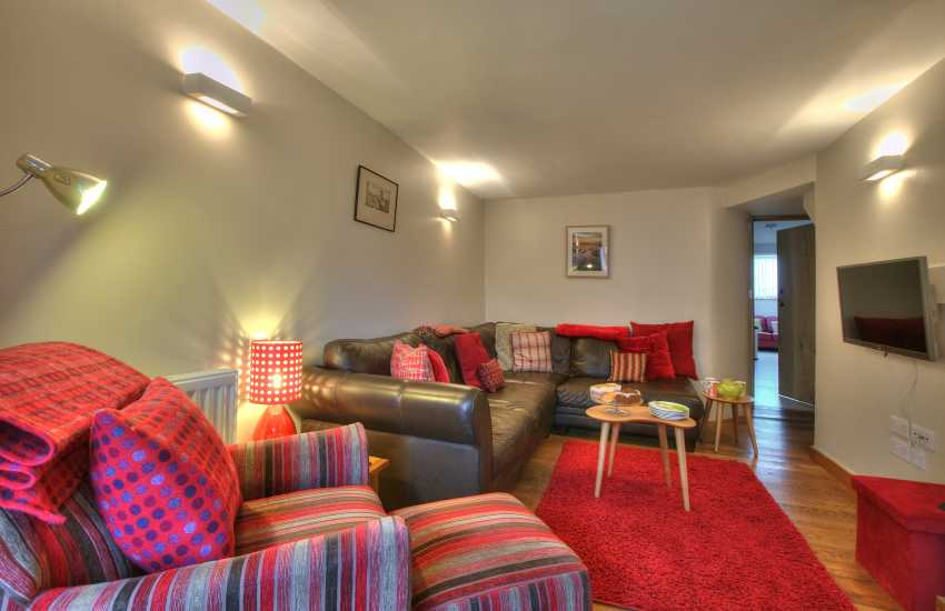 Holiday cottage St Davids town centre - lounge