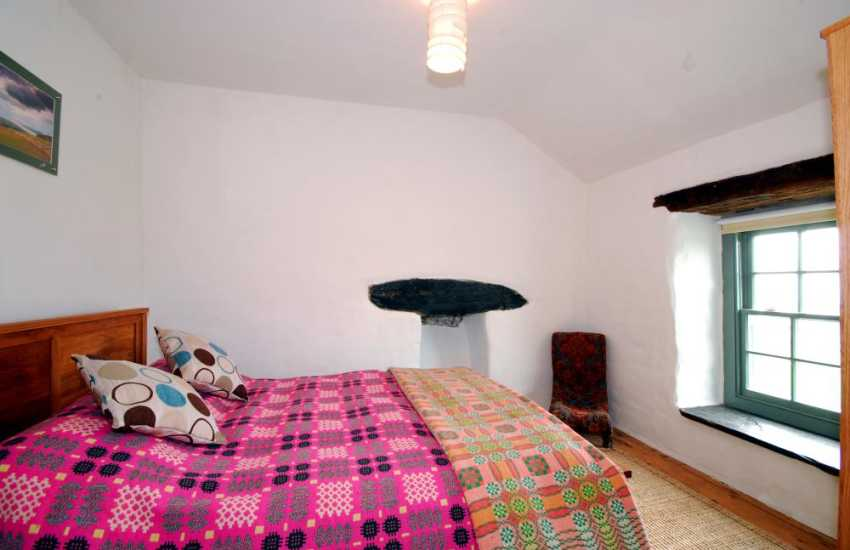 Bedroom at Harlech holiday cottage