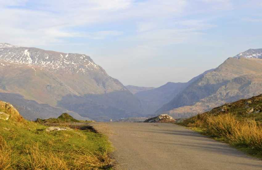 Quiet roads to ramble along in Snowdonia