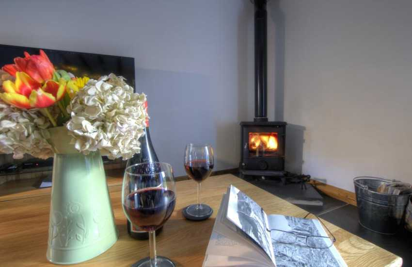 Betws y Coed holiday cottage - fire