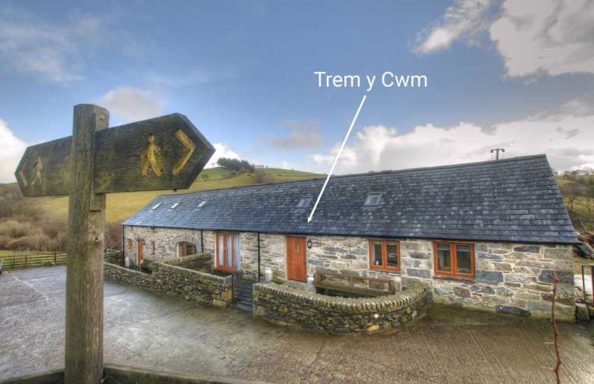 2 bedroomed Snowdonia cottage - ext