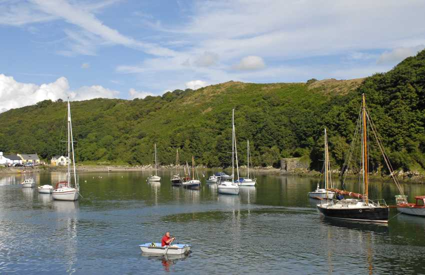 Picturesque Solva Harbour