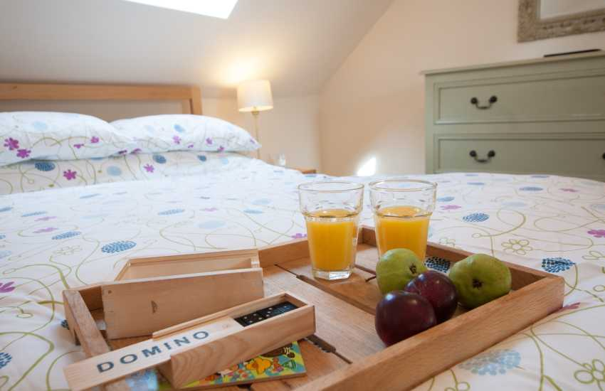 Aberdaron holiday cottage  - bedroom