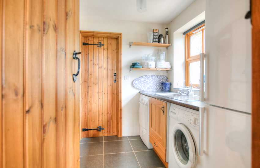 Rhiw holiday cottage - utility