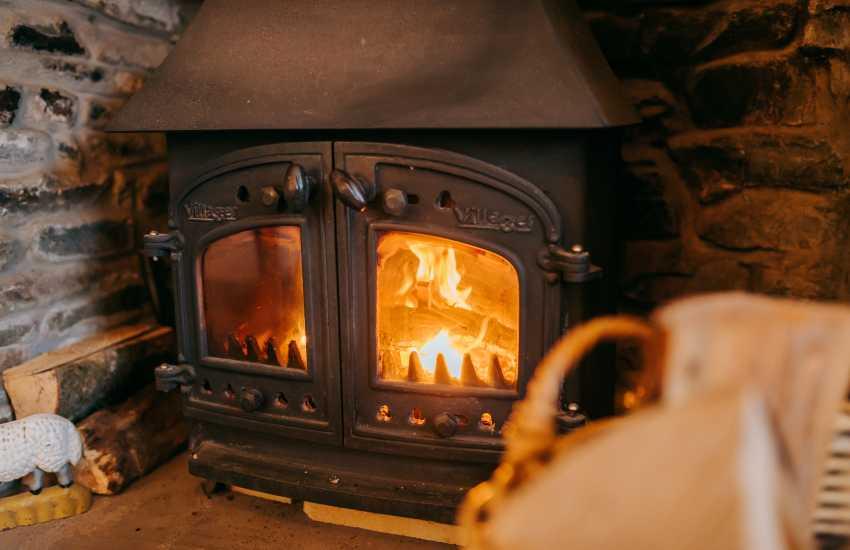 Llandeilo cottage holiday - Log burner