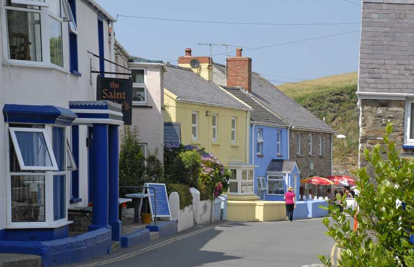 Little Haven is a quaint old fishing village, full of charm and character, with a tea room, bistro, gallery and choice of 3 excellent pubs