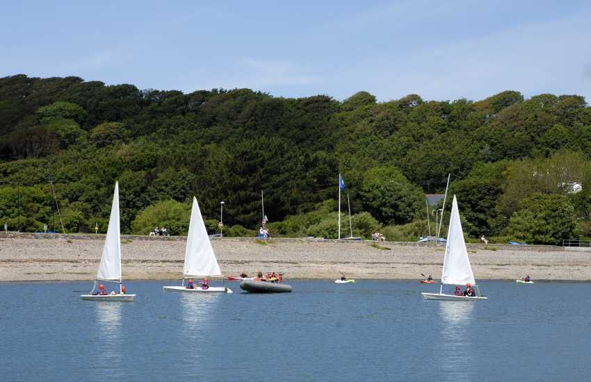 West Wales Windsurfing & Sailing in Dale offers tuition from beginner to expert all year round - try your hand at sailing or windsurfing