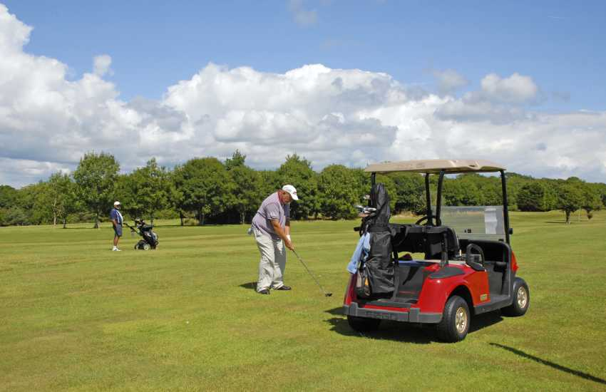 Pembrokeshire has a wide variety of challenging 18 hole golf courses to choose from