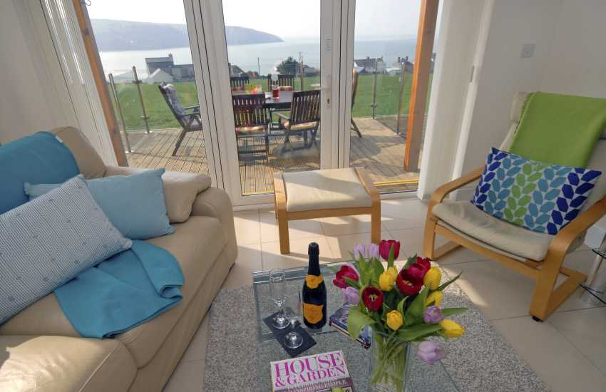 Cardigan Bay Heritage Coast - holiday cottage with sea views