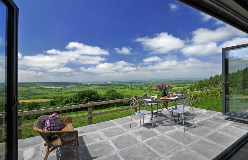 Usk Valley holiday cottage - view