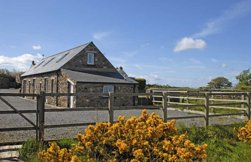 Pet friendly St Davids holiday cottage with sea views