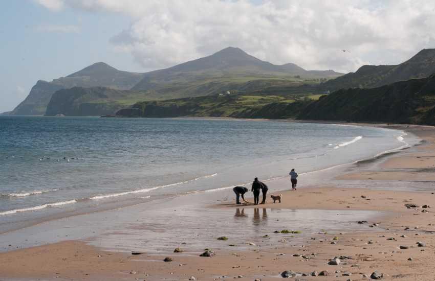 Nefyn beach 4 miles from Trefor