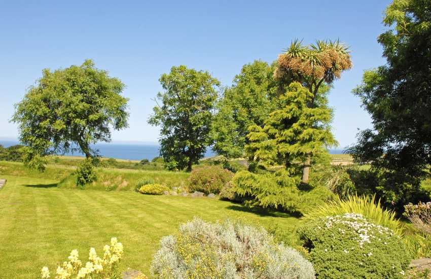 Shared gardens at Hafan Bach