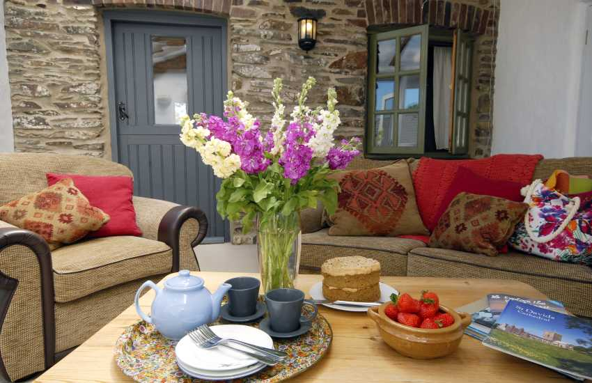 Pembrokeshire holiday cottage - sunroom