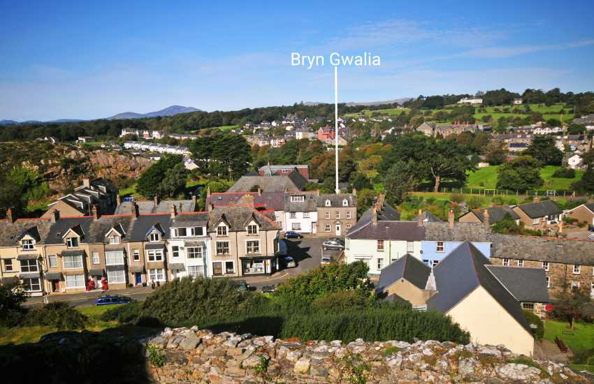 Holiday cottage Criccieth - exterior