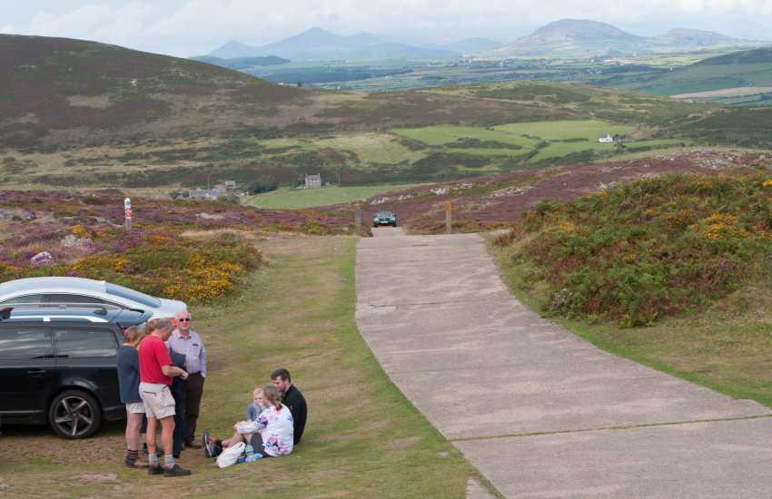 Snowdonia view from Uwchmynydd, Aberdaron