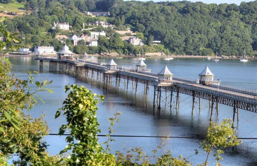 Bangor pier, a great walk across the Menai strait