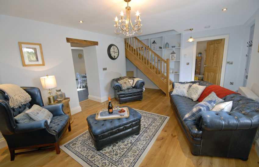 Pembrokeshire restored Victorian cottage - sitting room