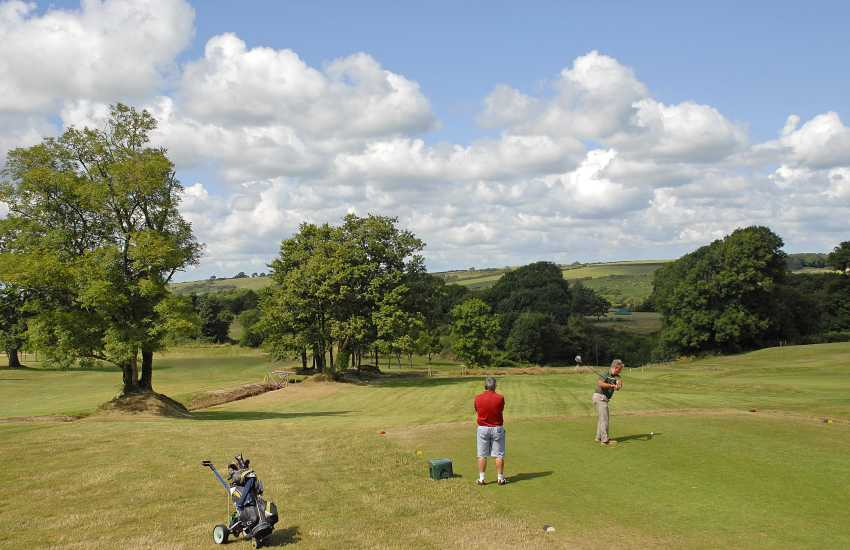 Priskilly Forest Golf Club, Castle Morris, has a challenging 9 hole course in beautiful parkland with panoramic views