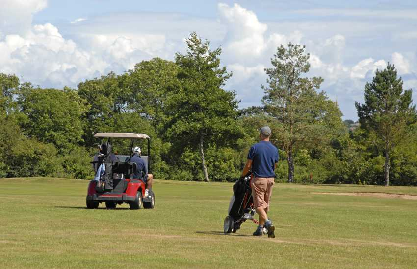 Enjoy golf at Priskilly - a challenging 9 hole course set in mature parkland and open to non members of all ages