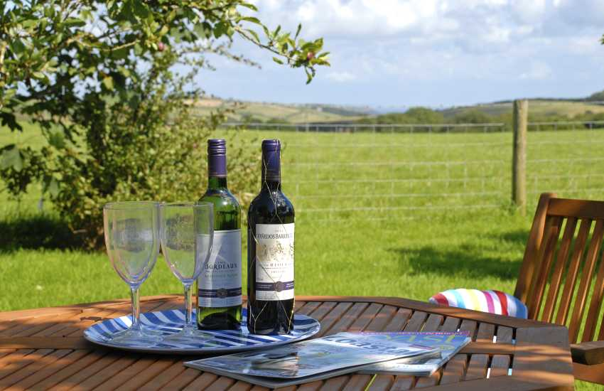 Pembrokeshire holiday cottage with private gardens