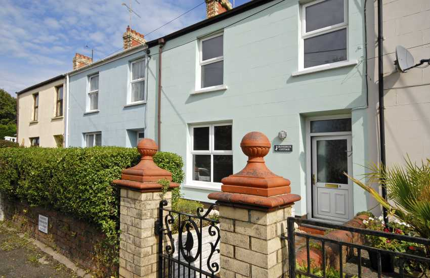 Narberth town holiday cottage - pet friendly