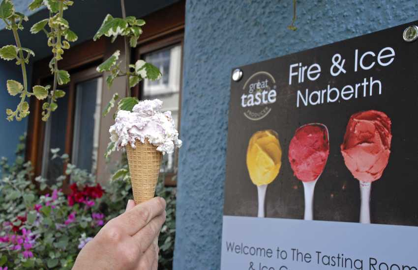 'Fire and Ice' have a delicious range of homemade ice cream and sorbet creations to enjoy