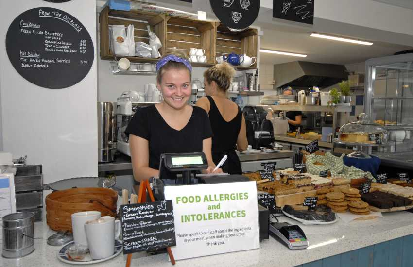 Call at The Cornerhouse Cafe in Little Haven for delicious coffee, cakes and service with a smile!