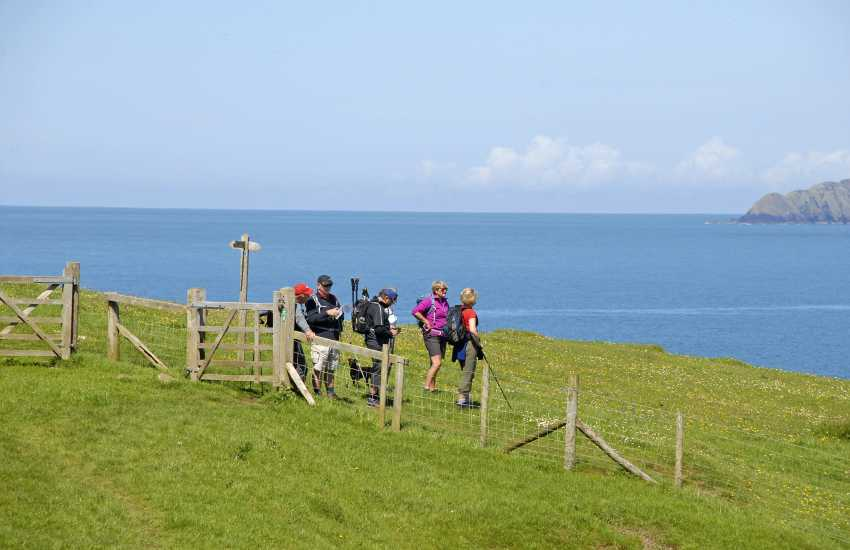 The Pembrokeshire Coastal Path - wonderful scenery, flora and fauna throughout the year