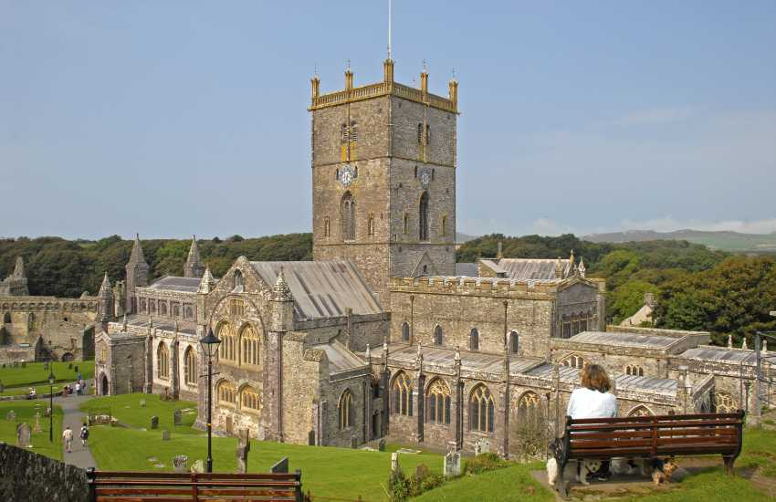 St Davids - Britain's smallest city with the magnificent Cathedral nestled at its heart