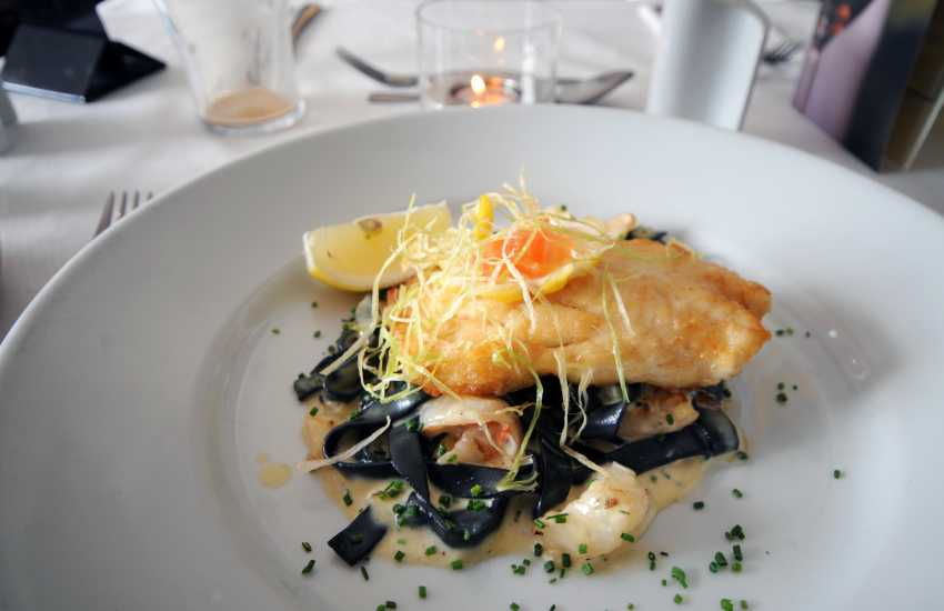 The Ship in Aberdaron serves locally caught crab and lobster and the finest Welsh lamb and beef