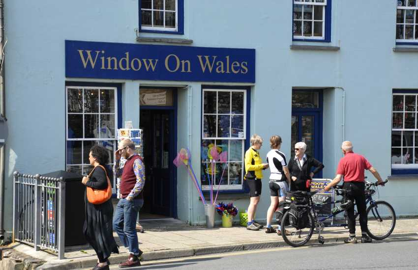 St Davids has a wide variety of art & craft galleries to choose from