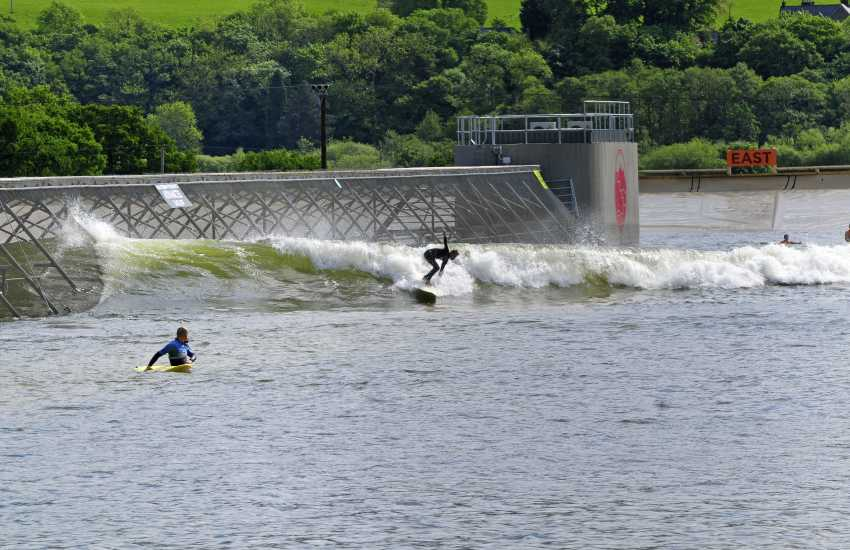 Take to the waves at Surf Snowdonia an innovative inland wave garden