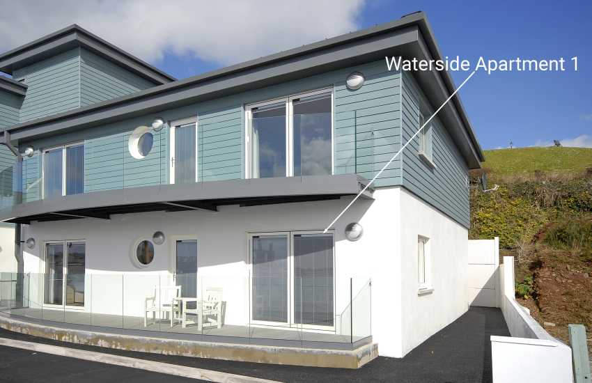 Waterside holiday apartment Pembrokeshire