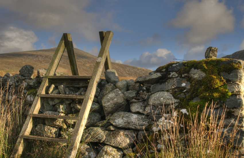 Nantlle Ridge walk from the village, this can be a challenging walk but offers some spectacular views and a sublime walk passing Dulyn lake and upwards to Craig Cwm Dulyn and Craig Cwm Silyn