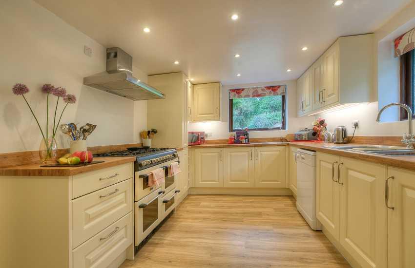 Harlech cottage - kitchen