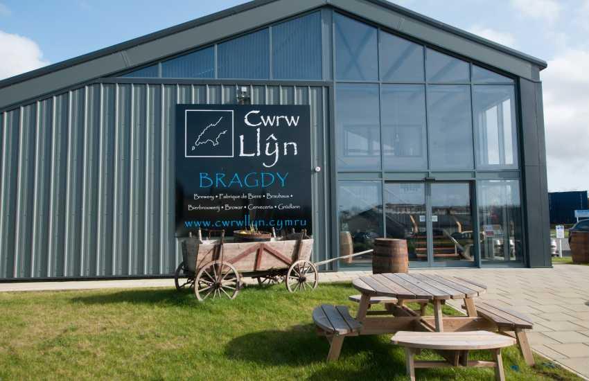 Cwrw Llyn visitor centre and brewery Nefyn