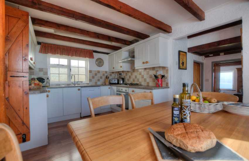 Coastal cottage in Wales - kitchen