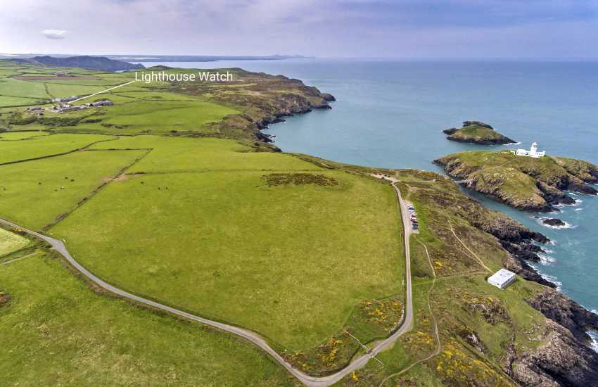 Strumble Head Lighthouse Ynys Meicel - holiday penthouse overlooking the coast