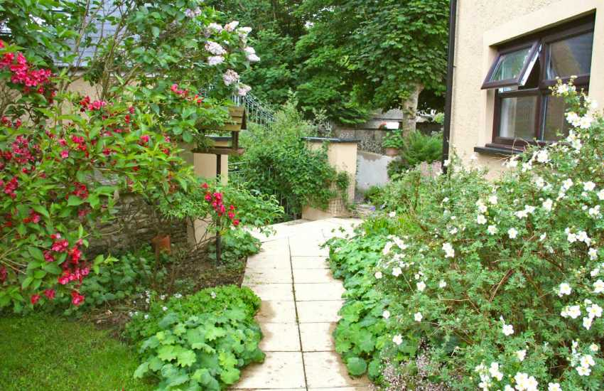 Mathry cottage holiday garden