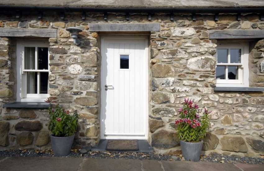 Welsh stone holiday cottage with private garden