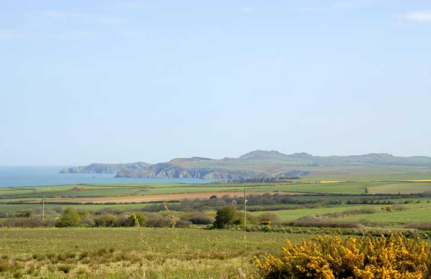 Enjoy fabulous sea and coastal views from Temple Cottage