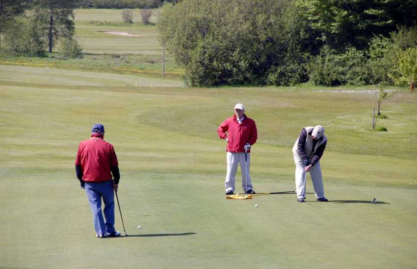 Enjoy a relaxing game of golf at Priskilly Forest - a 9 hole course set in 40 acres of mature parkland.