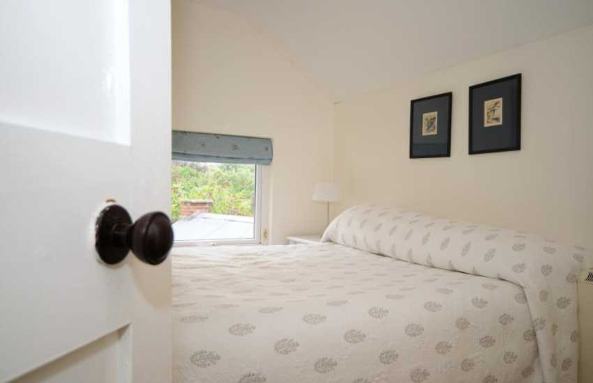 Double bedroom at back of house