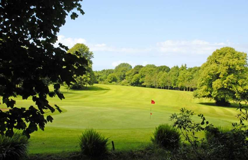 Priskilly Golf Club has a challenging 9 hole course set in mature parkland with a restaurant, bar and panoramic views