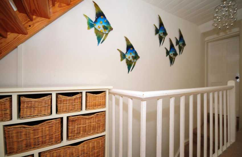 Lleyn Peninsula holiday cottage - stairs