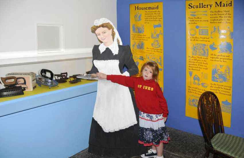 Visit Scolton Manor and County Museum for a magical trip back to Victorian times - a lovely day out for all the family