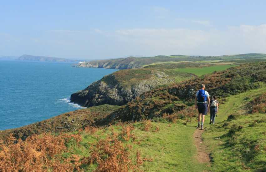 Enjoy the Pembrokeshire Coastal Path's breathtaking scenery