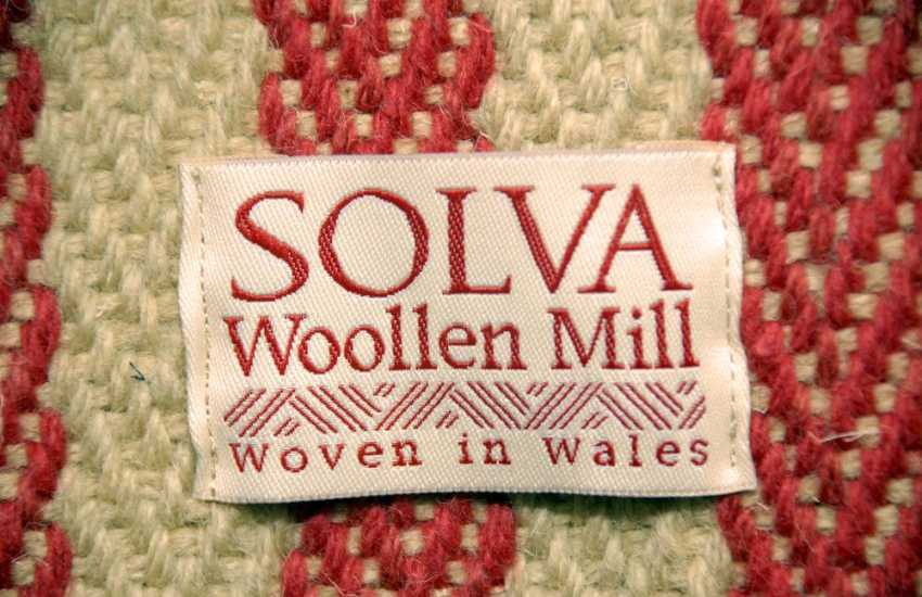 Solva Woollen Mill, open all year round, has a lovely shop with a tea room and specialises in flat weave carpets, floor rugs and striking stair runners
