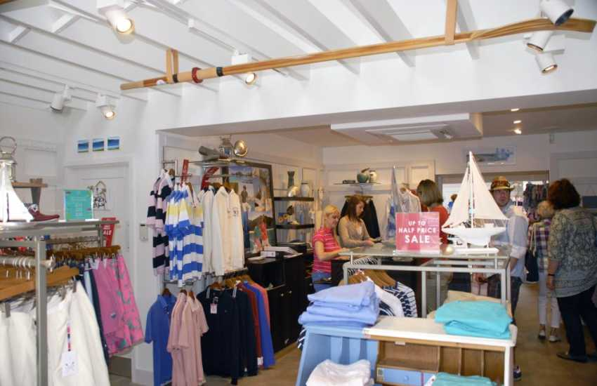 Shopping in St. Davids - something to tempt the whole family!